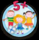 Vhodné pre päť a viac detí