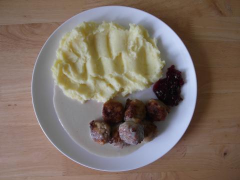 Švédske mäsové guľky
