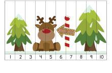 Puzzle, Vianoce