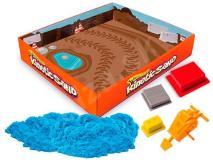 Kinetický piesok pre malých stavbárov