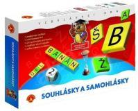 Spoločenská didaktická hra - Spoluhlásky a samohlásky
