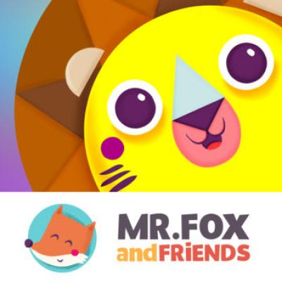 Mr.Fox and shapes HD - educational shapes & colors learning game for toddlers & preschoolers from Mr.Fox and friends