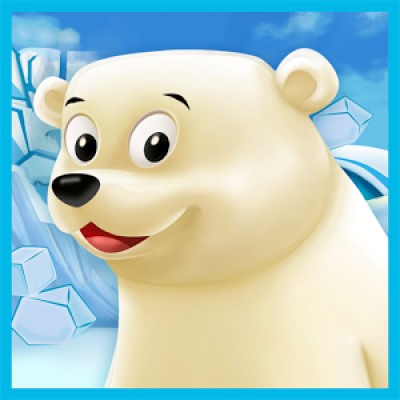 Polar Bear Cub for kids 3-5