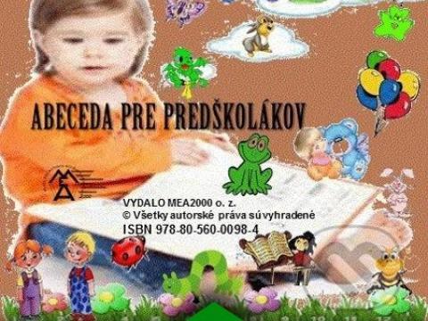 Elektronická kniha - Abeceda pre predškolákov