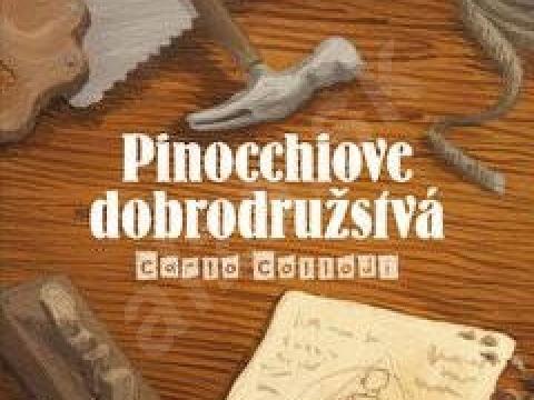 Audio kniha Pinocchiove dobrodružstvá
