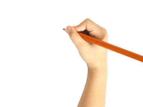 Ako a prečo správne držať ceruzku