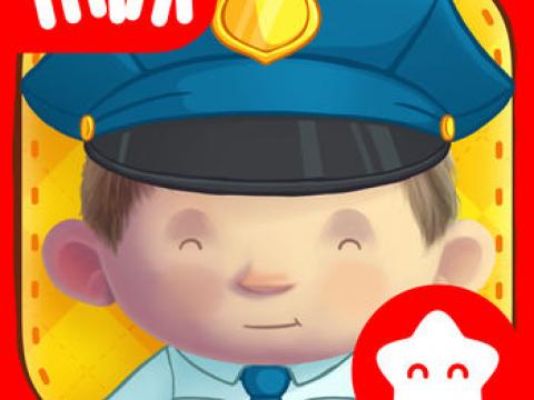 Dress Up : Professions - Occupations puzzle game & Drawing activities for preschool children and babies by Play Toddlers (Free Version for iPad)