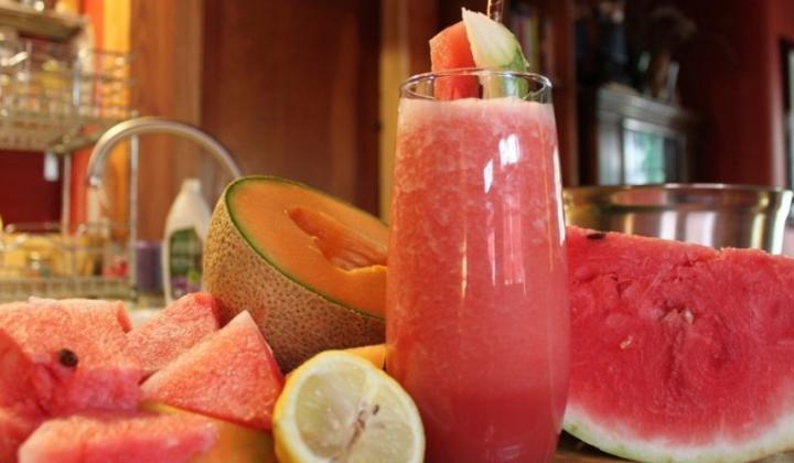 Osviežujúce melónové smoothie