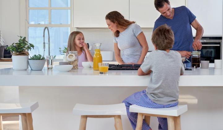 Kuchyňa je srdcom rodiny